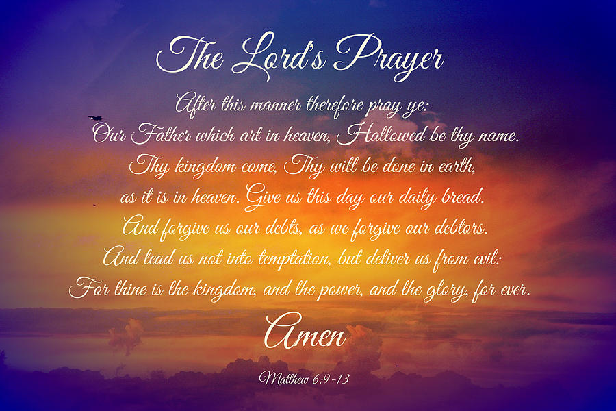 the lords prayer iphone - photo #38