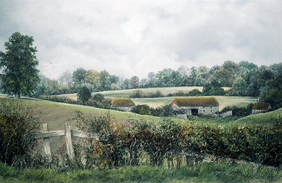 The Lost Hedgerow Painting