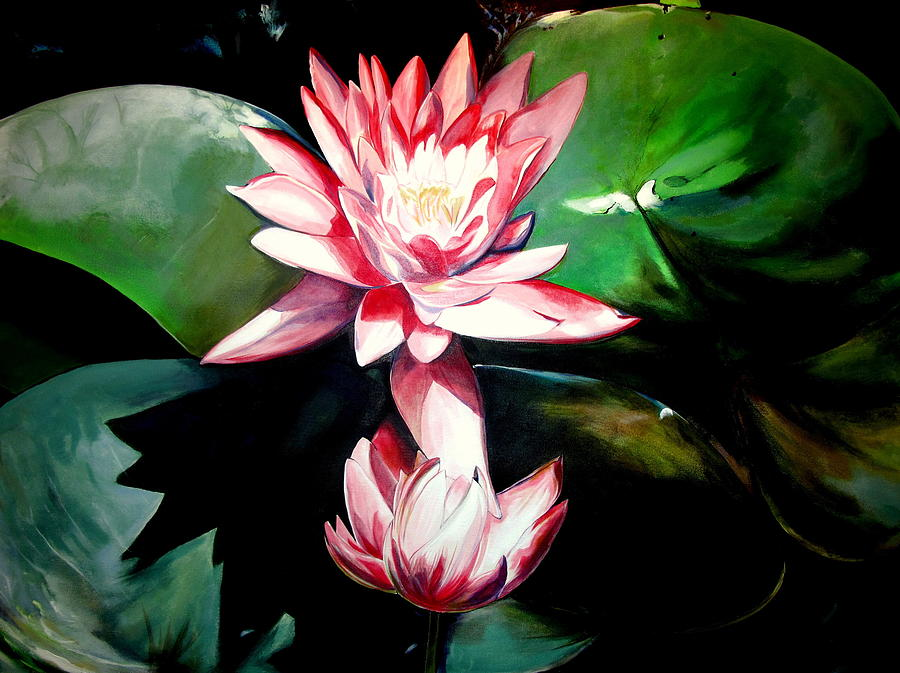Lotus Painting - The Lotus by John  Duplantis