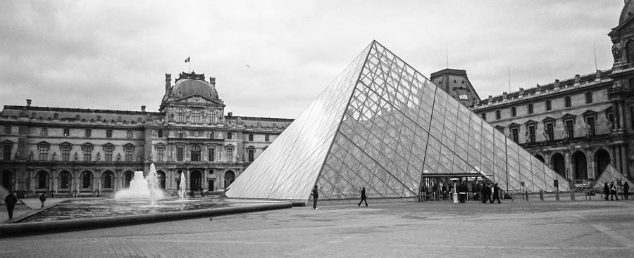 Paris Photograph - The Louvre  by Steven  Taylor