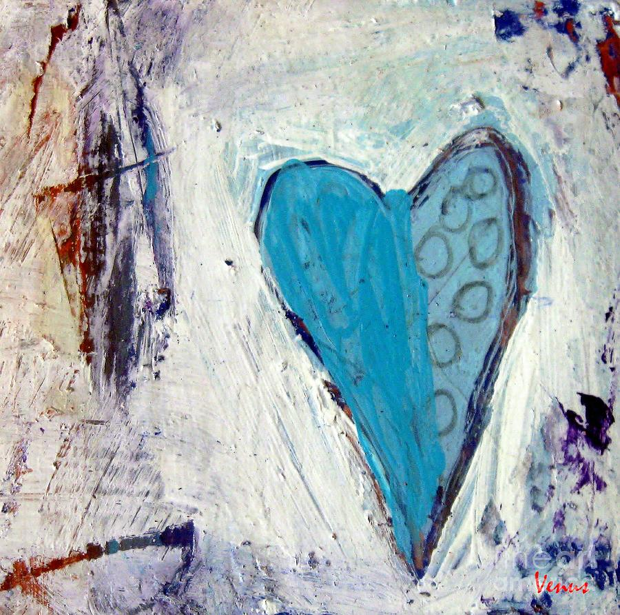 Abstract Painting - The Love Inside by Venus
