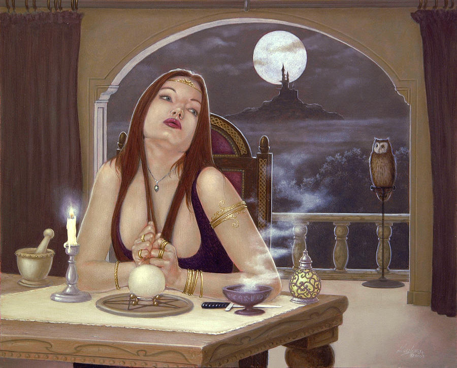 Paintings Painting - The Love Spell by John Silver