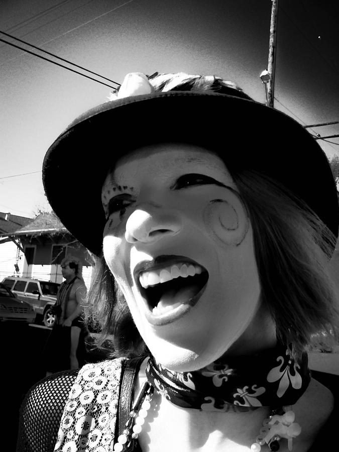 The Lovely Elly on Mardi Gras Day 2009 by Louis Maistros