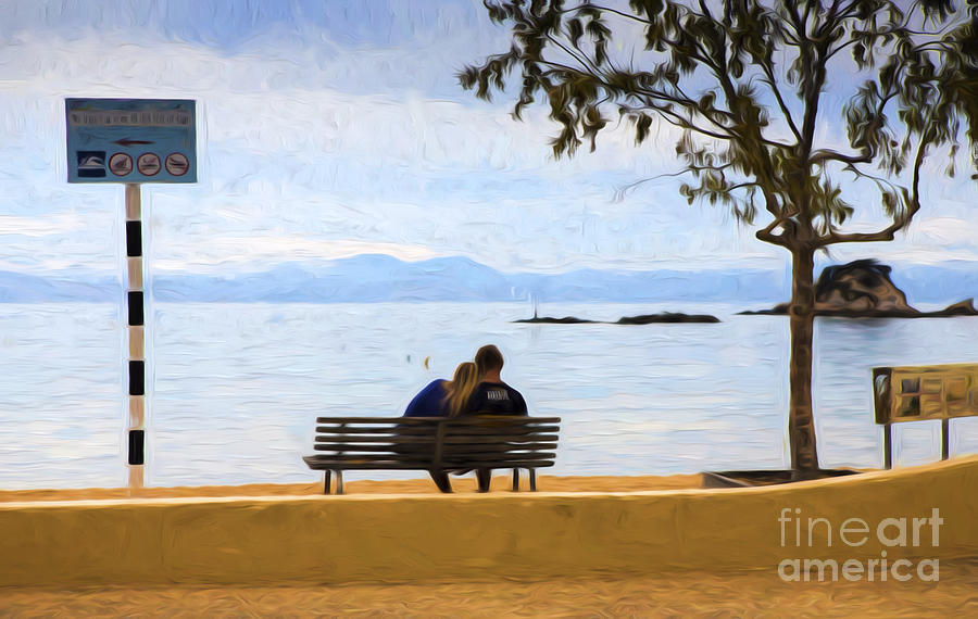 Lovers Photograph - The Lovers by Sheila Smart Fine Art Photography