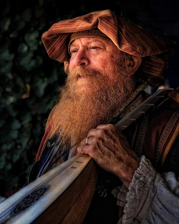 Beard Photograph - The Lutiest by Dick Wood