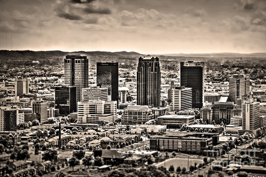Ken Photograph - The Magic City Sepia by Ken Johnson
