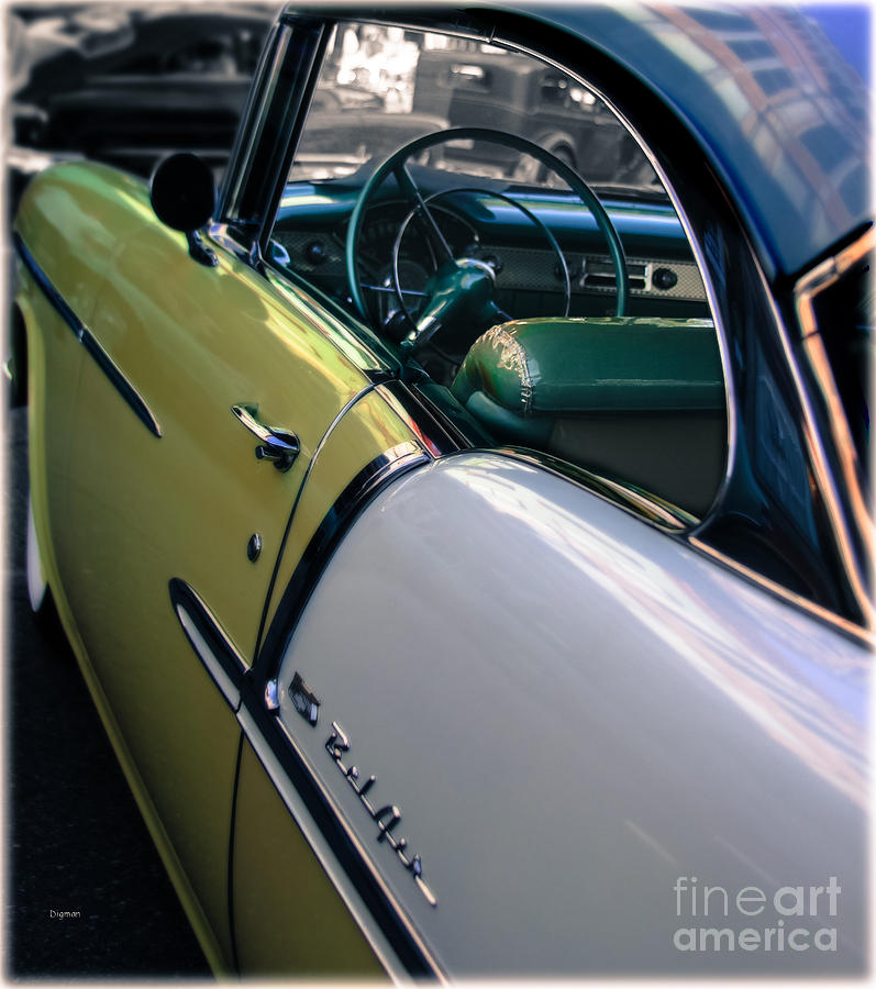 Car Photograph - The Magic Of 55 by Steven Digman