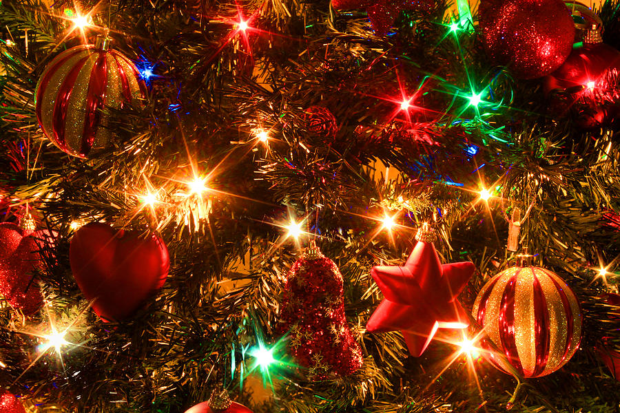 Greeting Card Photograph - The Magic Of Christmas by Julia Fine Art And Photography