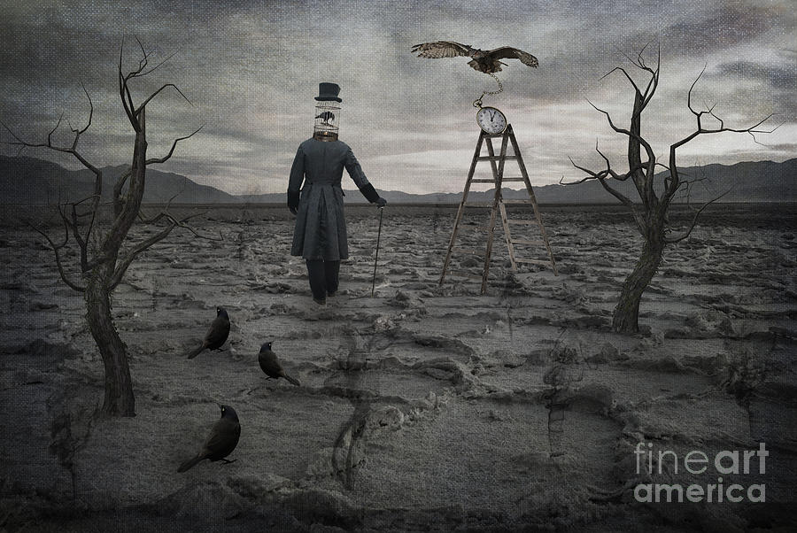 Badwater Photograph - The Magician by Juli Scalzi