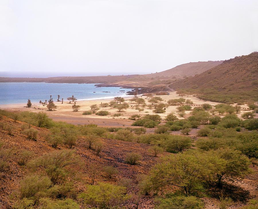 Africa Photograph - The Main Beach And Bay At Sao by Matthew Wakem