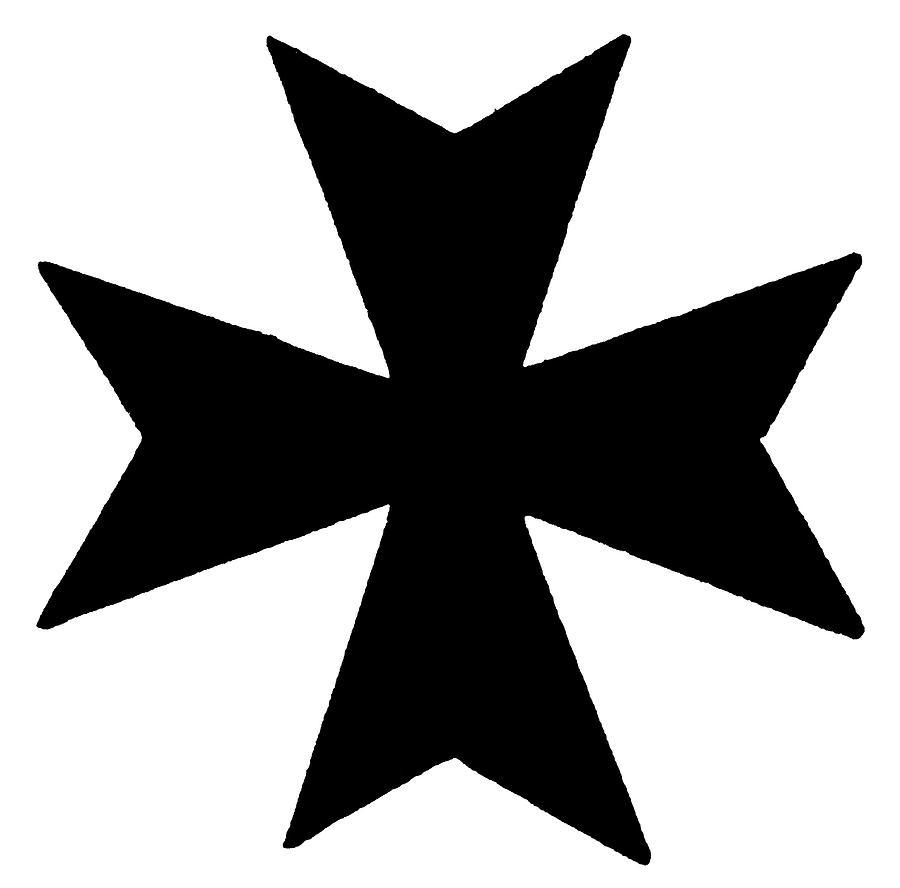 Maltese Painting - The Maltese Cross by Granger