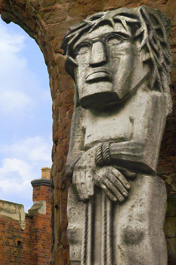 Stone Statue Photograph - The Man by Mike McGlothlen