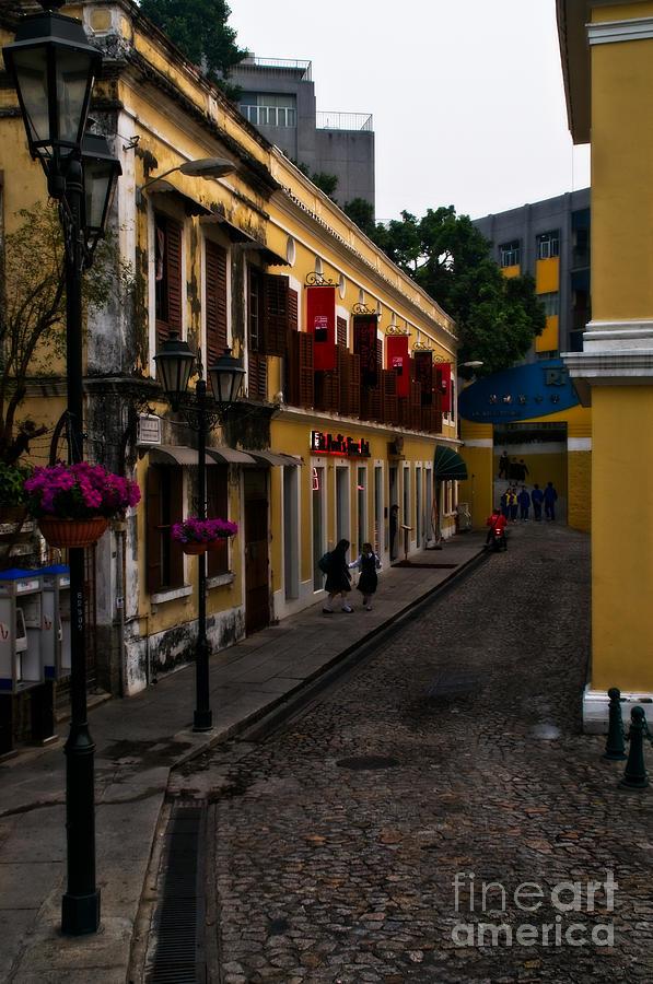 Macau Photograph - The Many Faces Of Macau by Venetta Archer