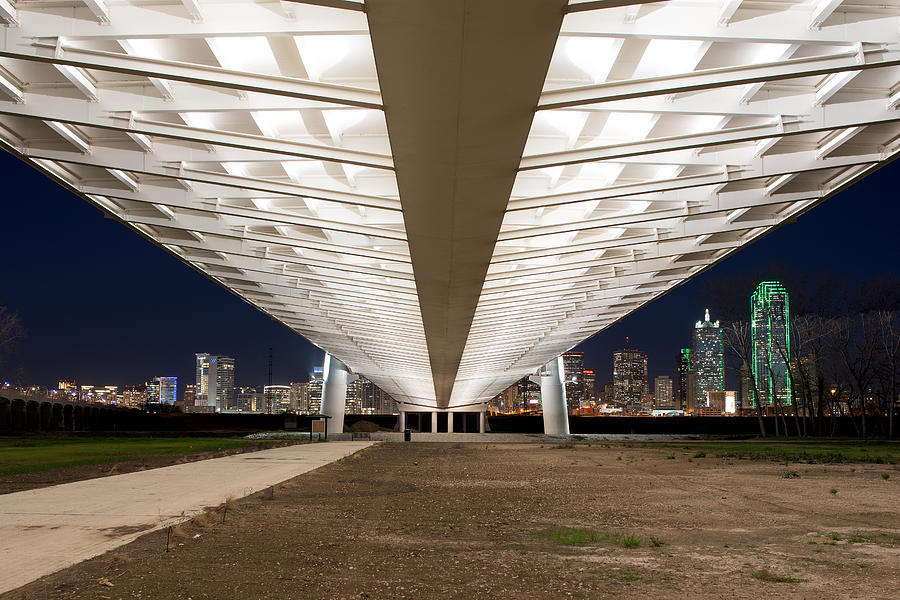 The Margaret Hunt Hill Bridge 012715  by Rospotte Photography