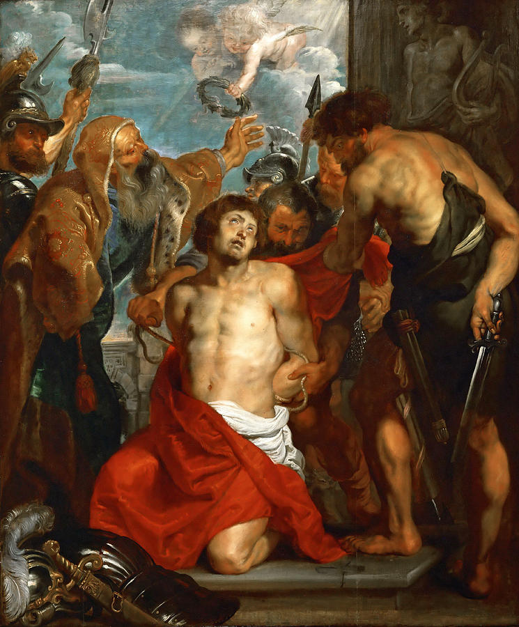 peter paul rubens st george and Buy peter paul rubens st george with martyrs maurus, papianus, domitilla, nerus and achilleus - 16 x 24 premium canvas print with fast shipping and top-rated customer service.