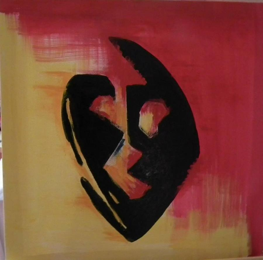 The Mask Painting by Faria  Ehsan
