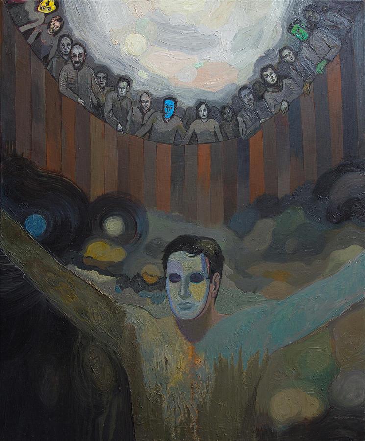 Triumph Painting - The Mask by Fernando Alvarez