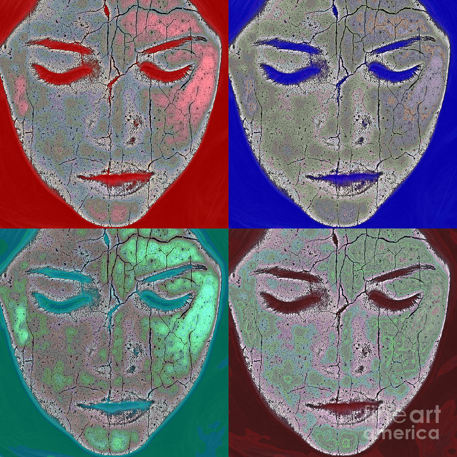 Abstract Photograph - The Mask by Stelios Kleanthous
