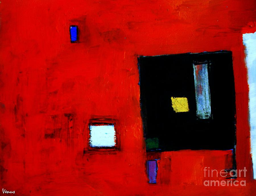 Abstract Painting - The Media by Venus