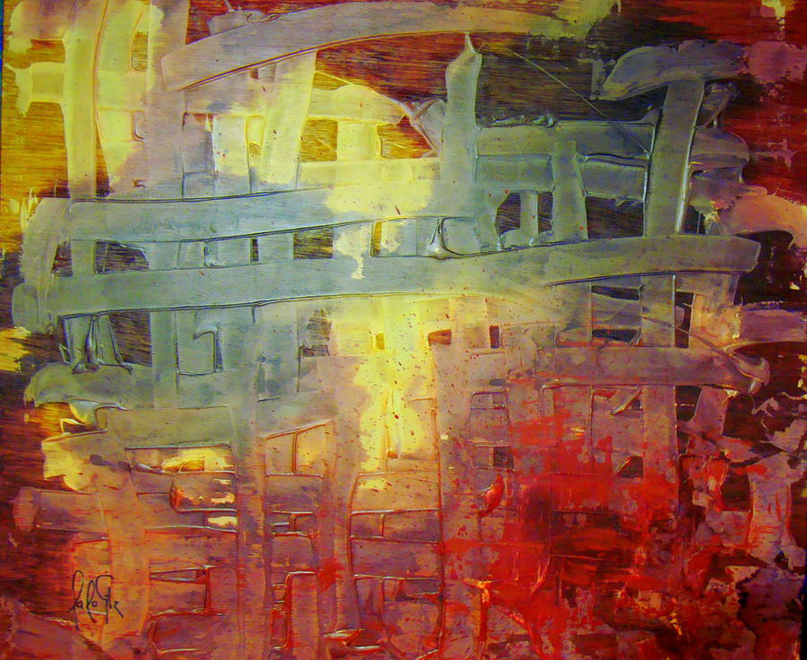 The Mercy Of God That Gives Freedom To The Captives Painting by Lalo Gutierrez