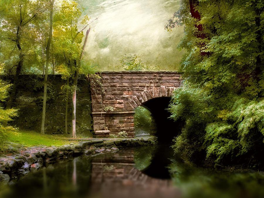 Bridge Photograph - The Midland Bridge by Jessica Jenney