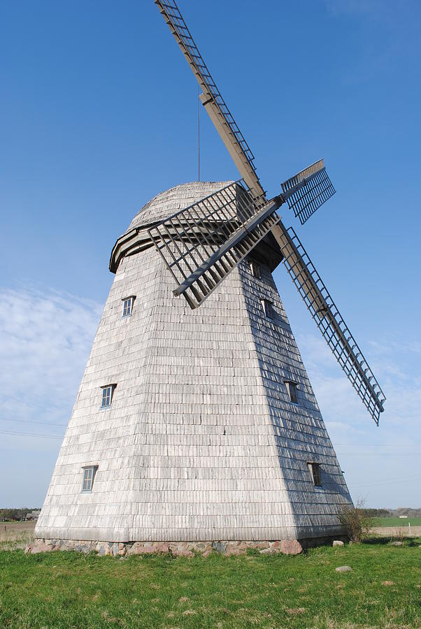 Mill Photograph - The Mill by Aurelijus Velyvis