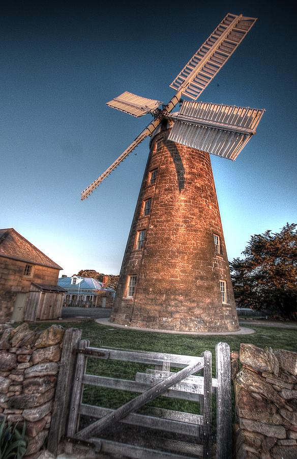 Mill Photograph - The Mill by Ian  Ramsay