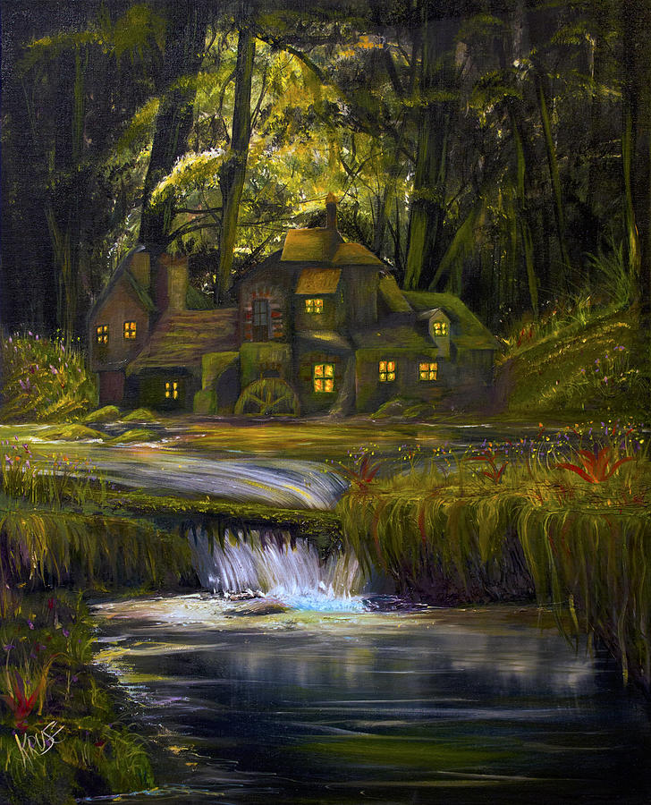 Mill Painting - The Mill by James Kruse