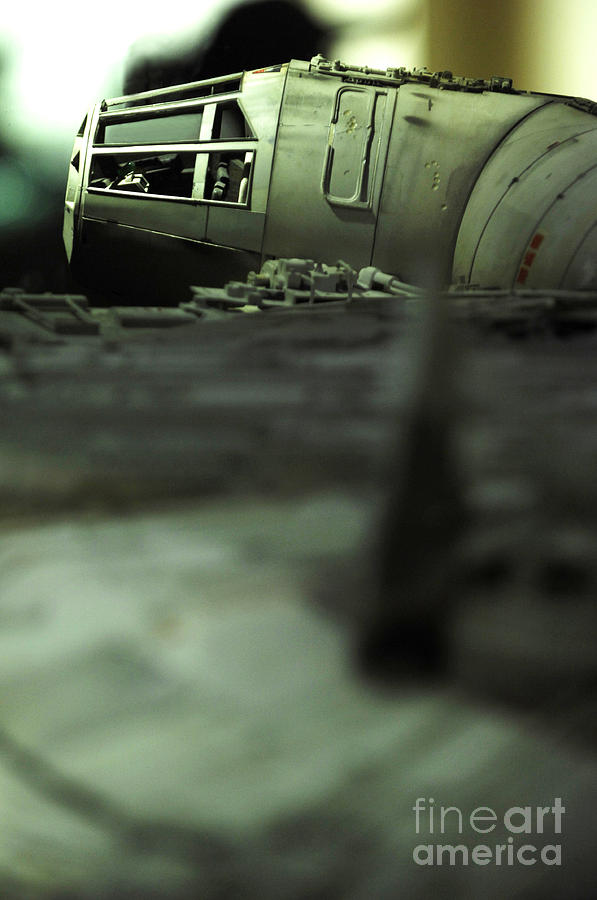 Fighter Photograph - The Millennium Falcon by Micah May