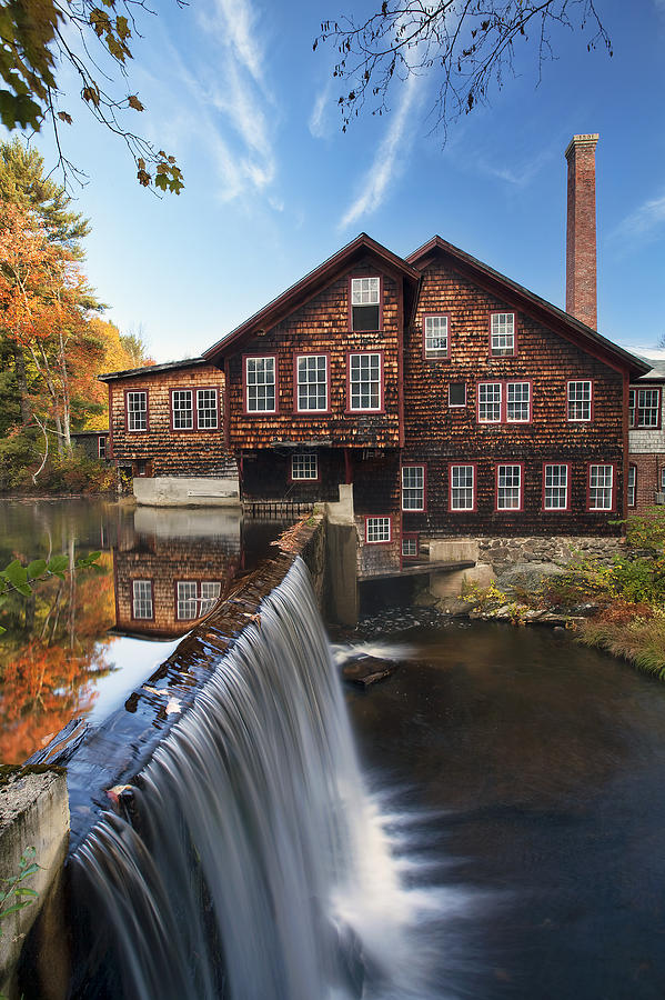 The Mills Photograph - The Mills by Eric Gendron