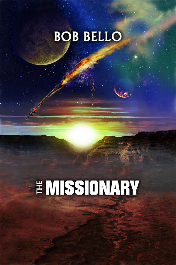 Sci-fi Painting - The Missionary by Bob Bello