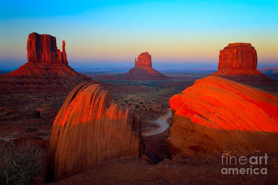 America Photograph - The Mittens by Inge Johnsson