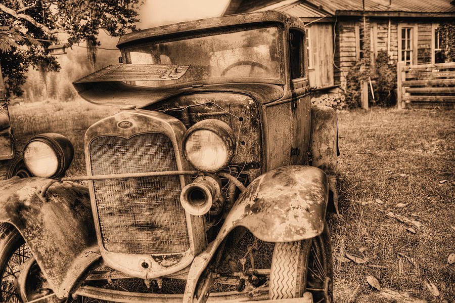 Model A Photograph - The Model A by JC Findley