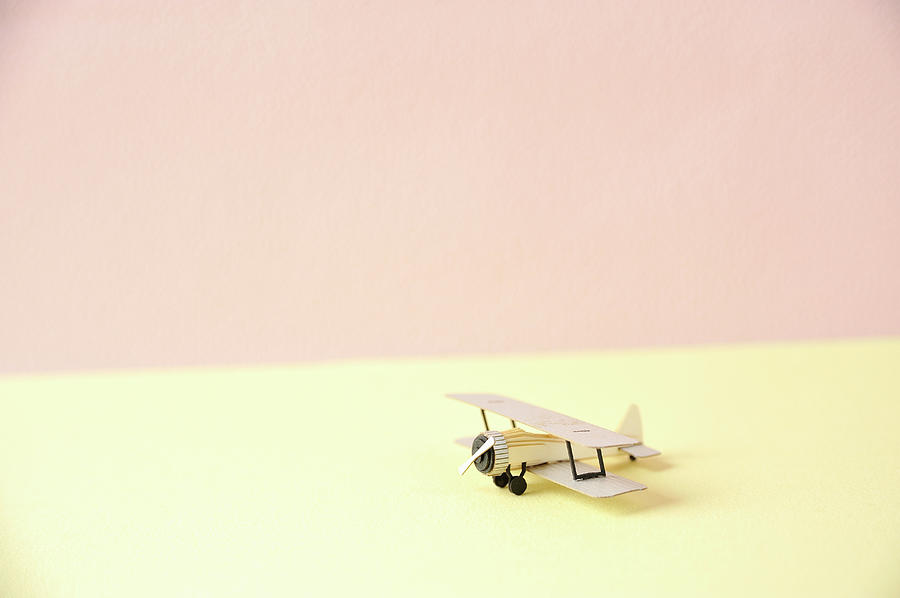 The Model Of The Airplane Made Of The Photograph by Yagi Studio