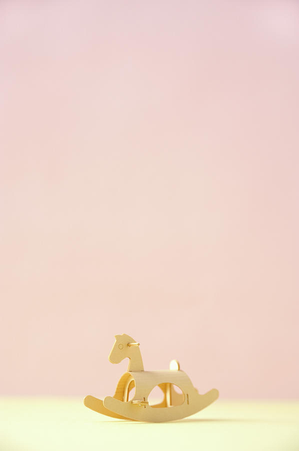 The Model Of The Wooden Horse Made Of Photograph by Yagi Studio