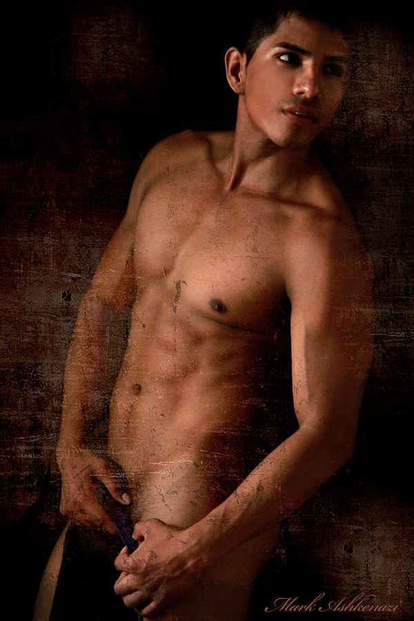 Male Nude Photograph - The Moment  by Mark Ashkenazi