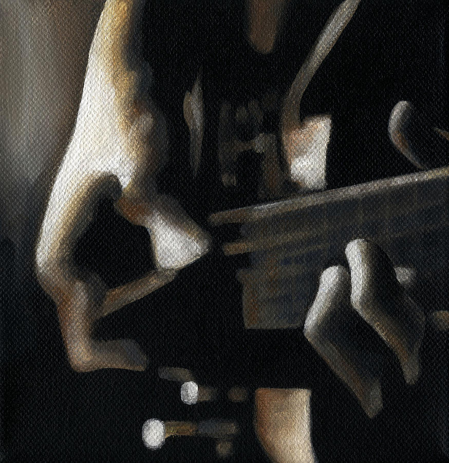 Hands Painting - The Moment by Natasha Denger
