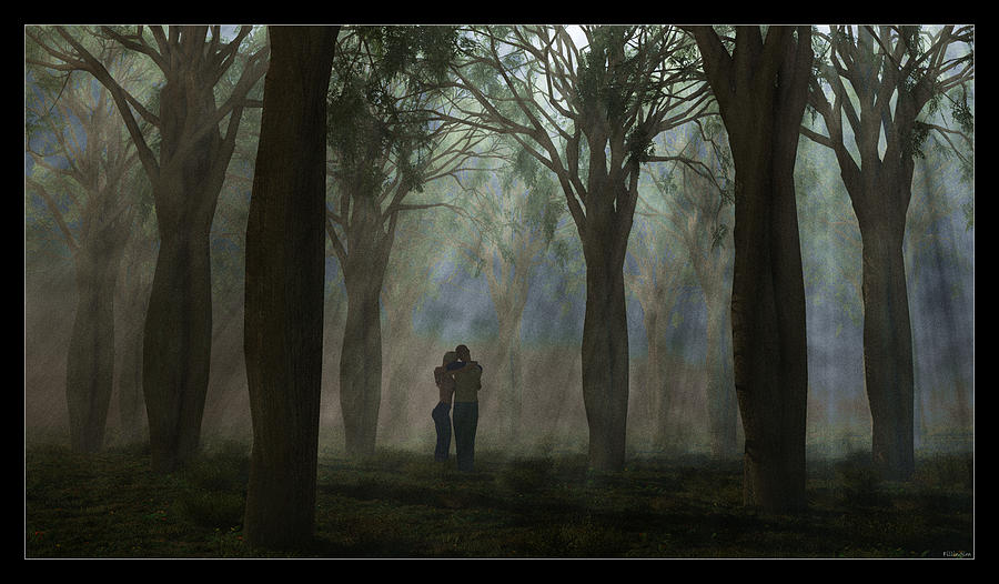 Landscape Digital Art - The Moment... by Tim Fillingim
