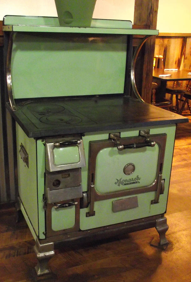 The Monarch Wood Stove Photograph By Mike And Sharon Mathews
