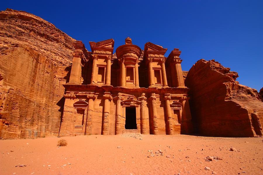 Jordan Photograph - The Monastery by FireFlux Studios