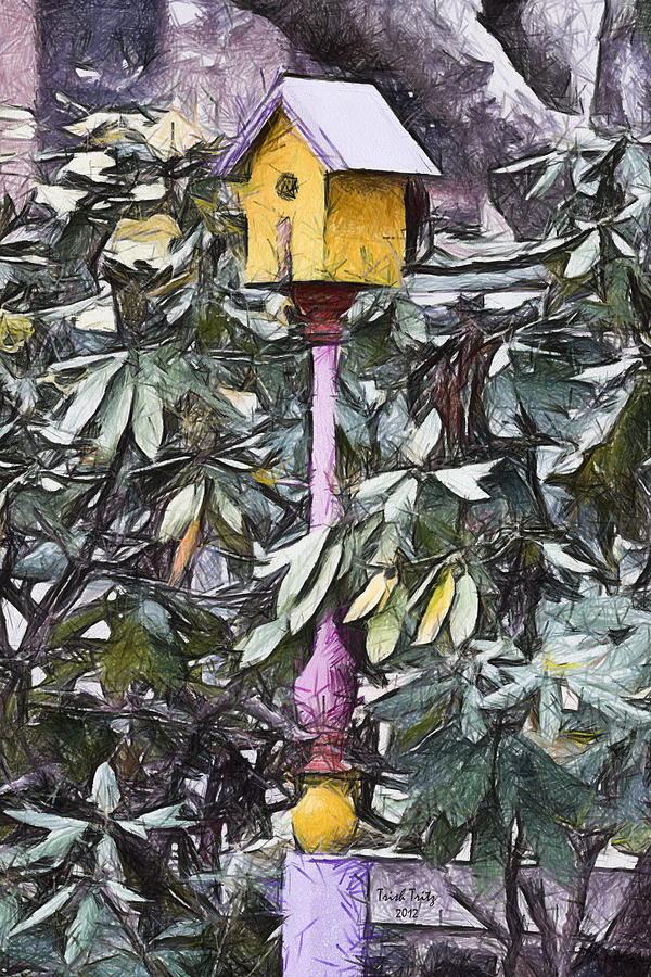 Birdhouse Photograph - The Monkeys Garden by Trish Tritz