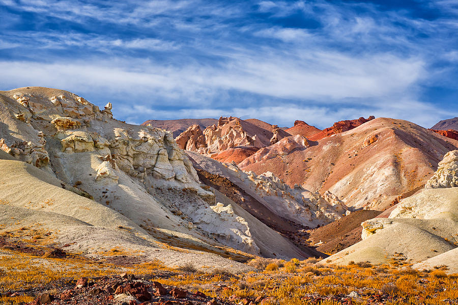 Nevada Photograph - The Monte Cristos Central Nevada by Janis Knight