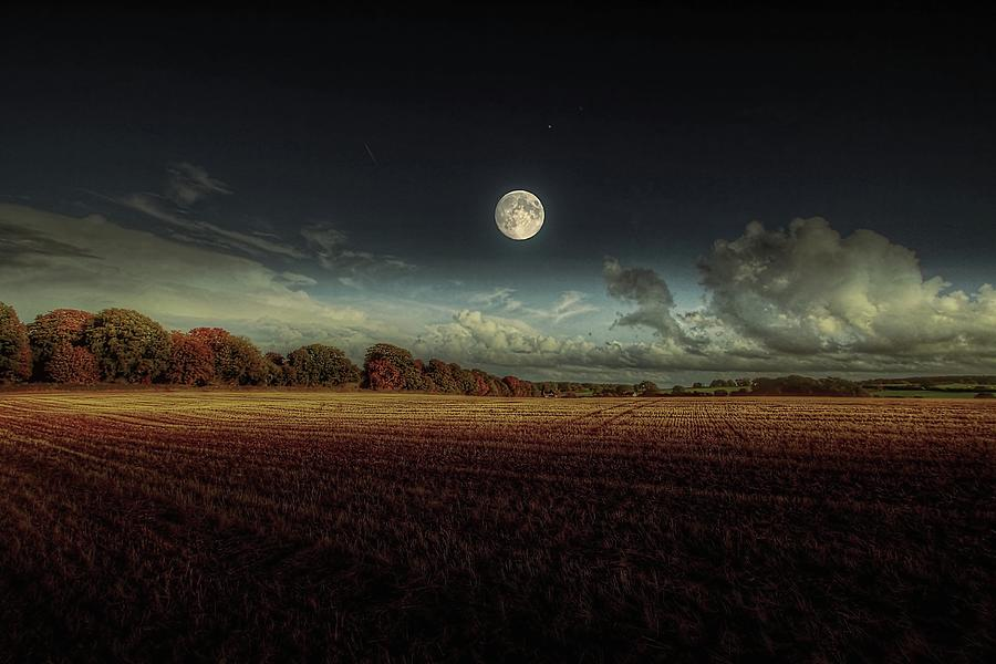The Moon Photograph by A Goncalves