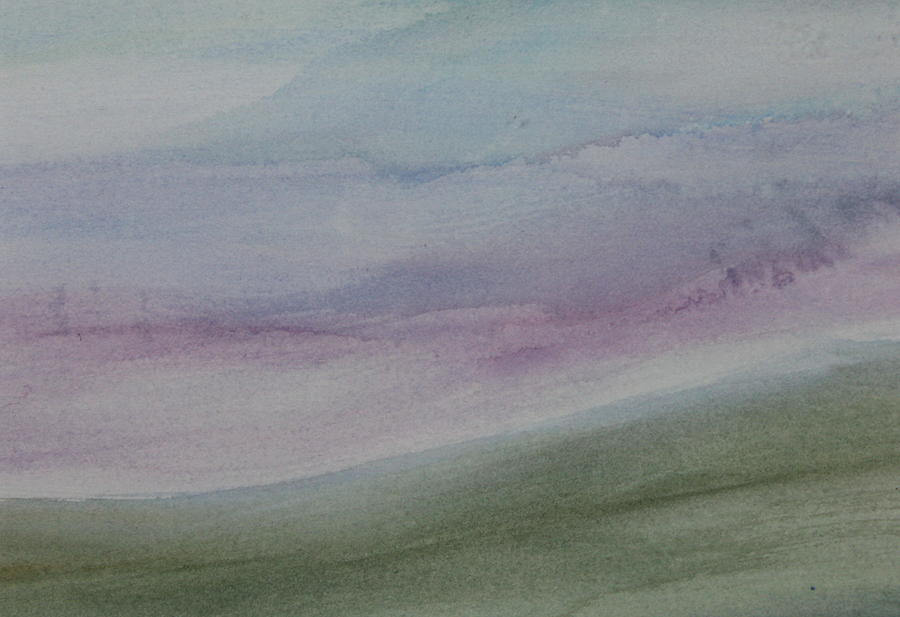 Landscape Painting - The Moors by Tom Atkins