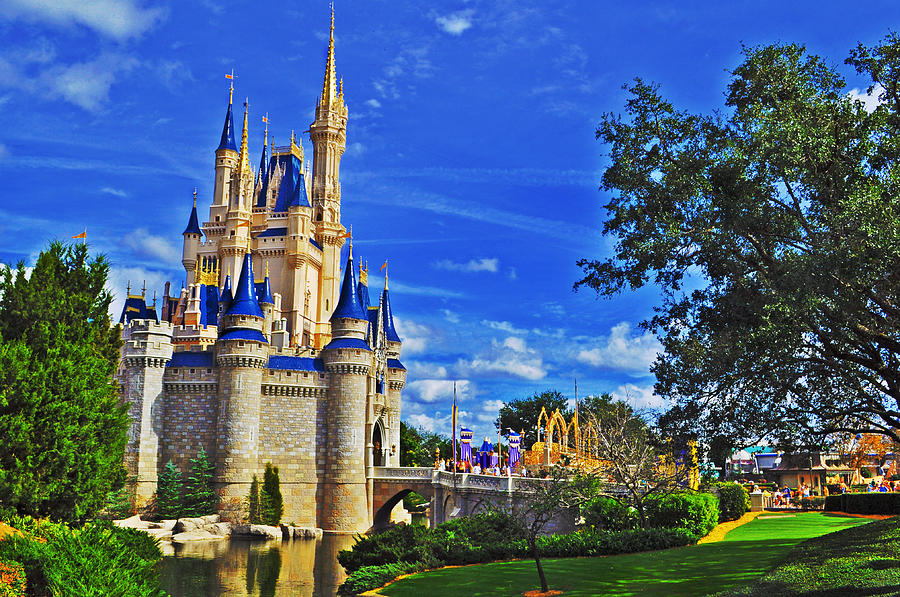 Disney Photograph - The Most Magical Of Kingdoms by Rachael M