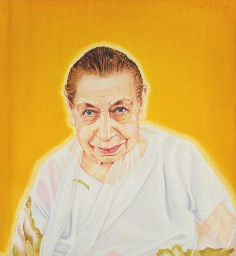 The Mother Painting - The Mother by Shiva Vangara
