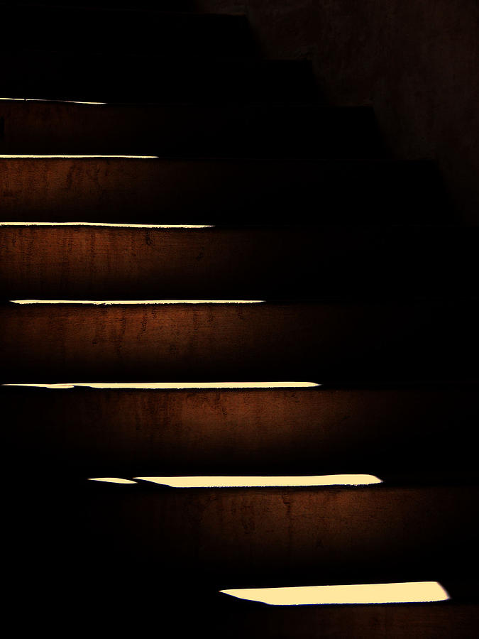 Steps Photograph - The Mountain by Wendy J St Christopher