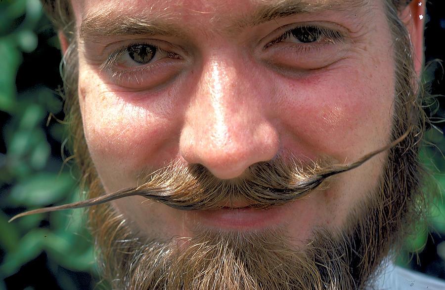 The Moustache Photograph