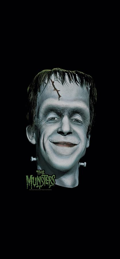 The Munsters Digital Art - The Munsters - Hermans Head by Brand A