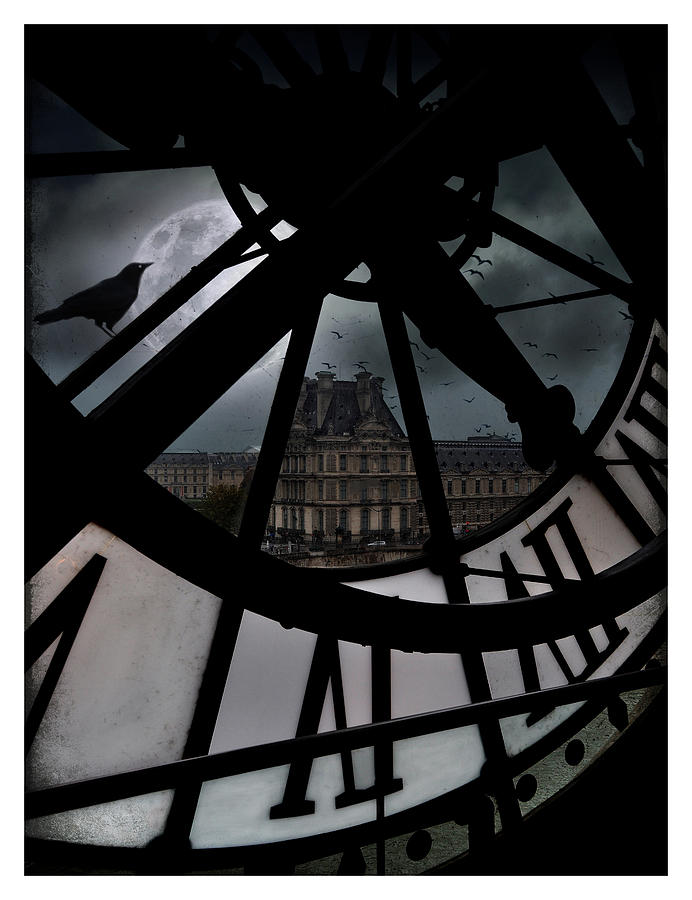 Paris Photograph - The Museum by Marie  Gale
